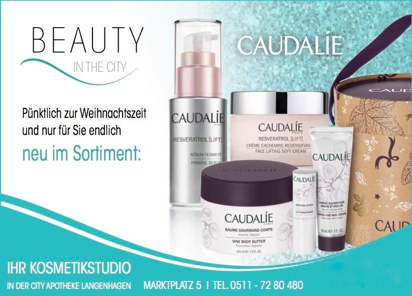 Caudalie – Neu bei Beauty in the City